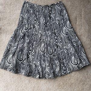 Jones New York Silk Flutter Skirt Sz.12